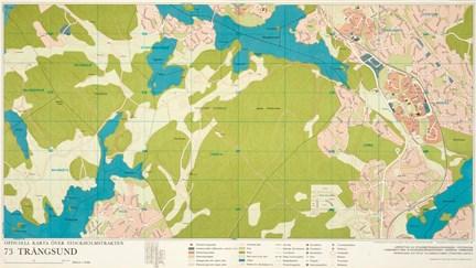 Karta Trangsund Ar 1969 Stockholmskallan