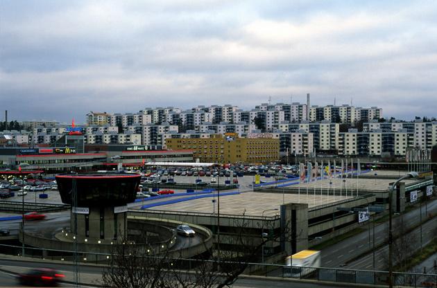 karta över skärholmens centrum Vy över Skärholmens centrum   Stockholmskällan karta över skärholmens centrum