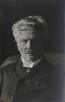August Strindberg - Fotografi