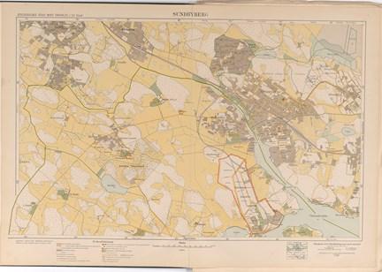 Karta Sundbyberg Fran 1917 1922 Stockholmskallan