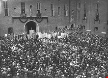 Stadshusets invigning 1923