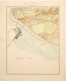Karta Bladet Hornstull 1909 Stockholmskallan